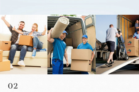 Moving Services-Packer & Movers-local moving company Infographic