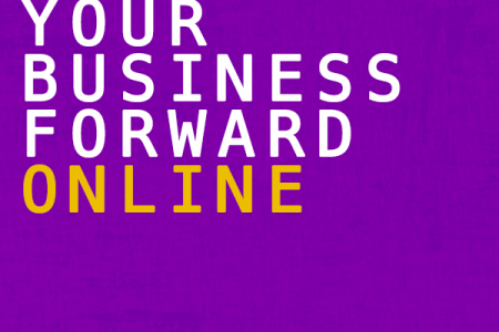 Moving Your Business Forward Online Infographic
