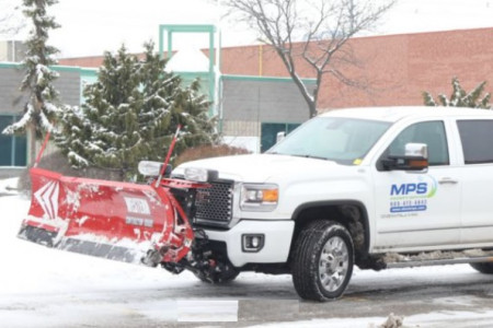 MPS Property Services - Snow Removal Services in Markham Infographic