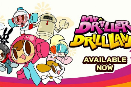 Mr Driller DrillLand Now Available on Nintendo Switch and Steam on PC Infographic