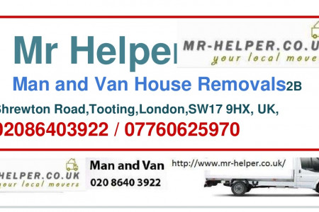 Mr Helper House Removals Infographic