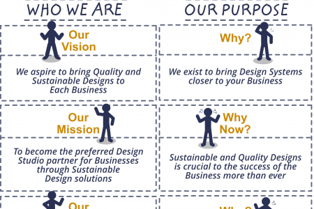 MRDZYN Studio - Mission and Vision, Infographics Style Infographic