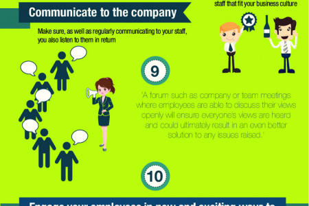 M&S for Business - Creating a Great Work Place Infographic