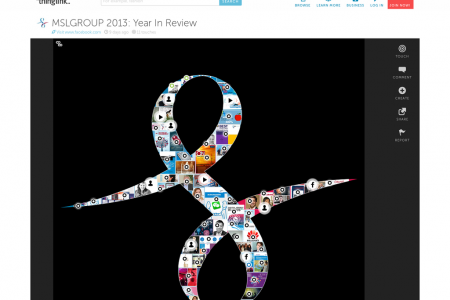 MSLGROUP 2013: Year In Review Infographic