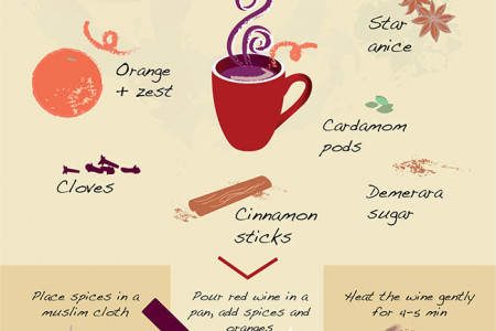 Mulling over a better world... 'How to make the perfect mulled wine' Infographic Infographic