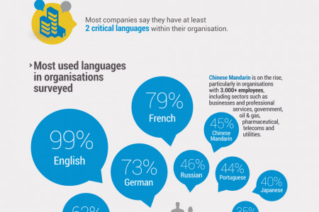Multinational means Multilingual Infographic