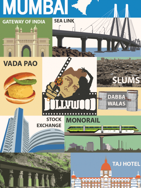 The Indian City of Dreams: Mumbai Infographic