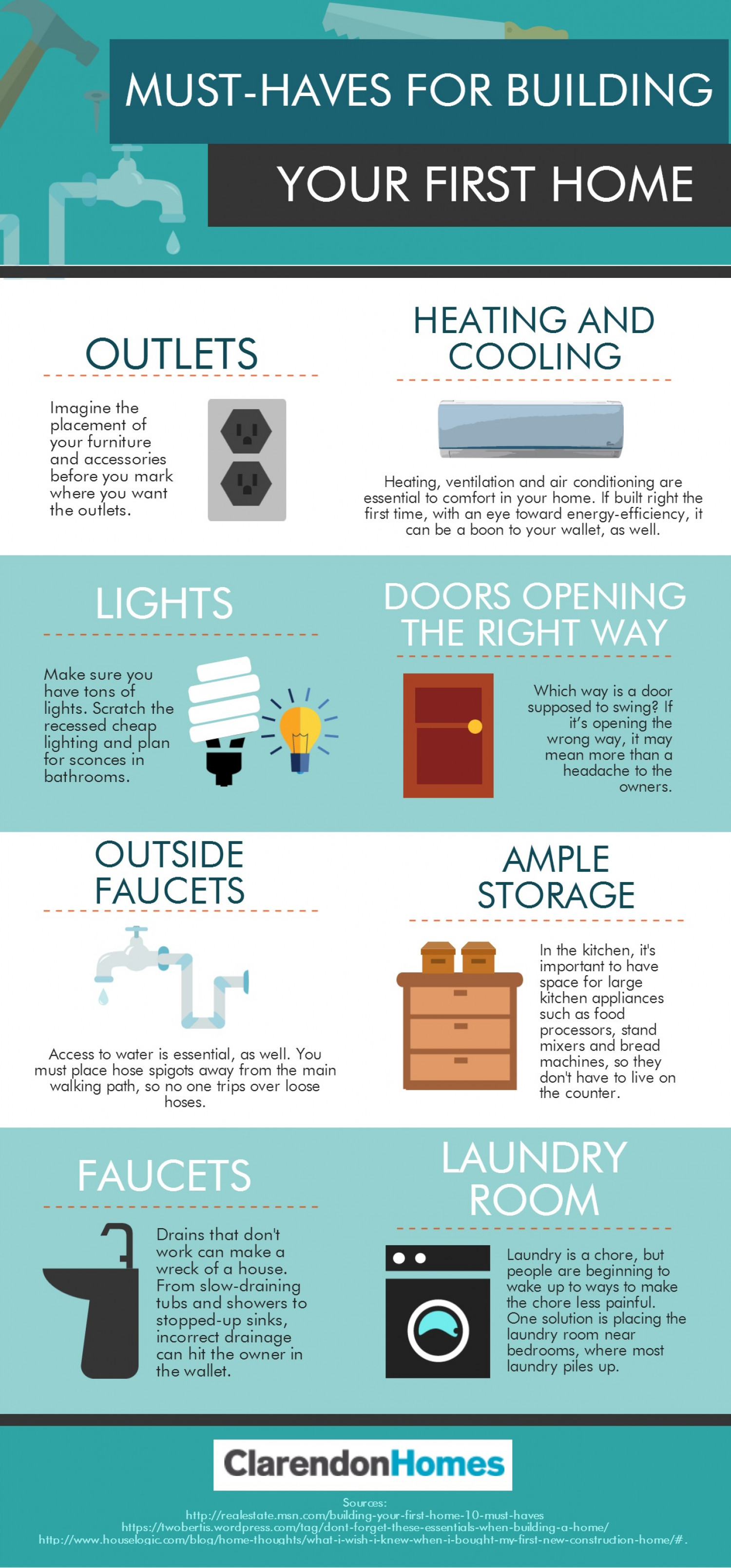 Must haves for building your first home for Must haves when building a new home