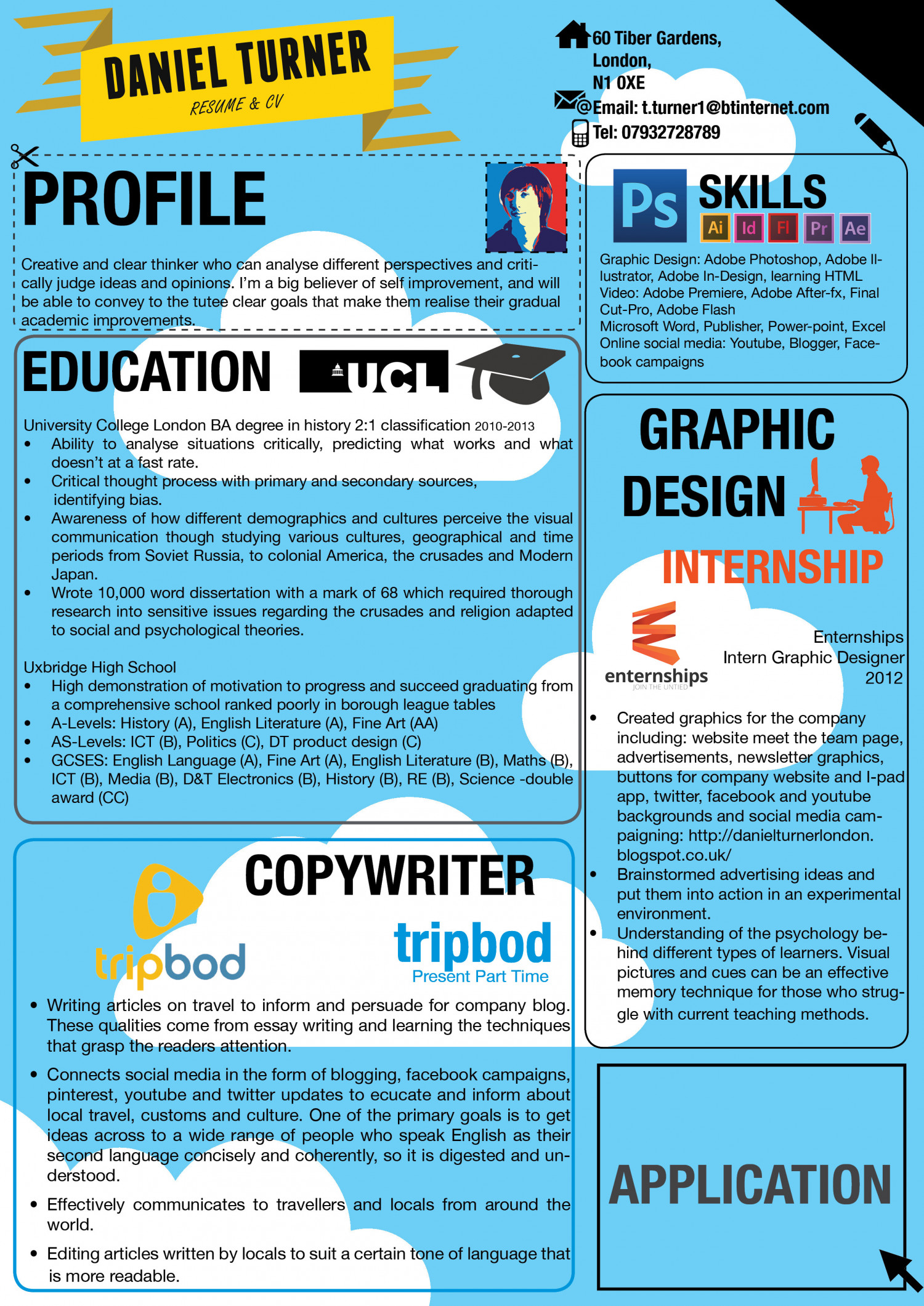 my cv visual ly my cv infographic