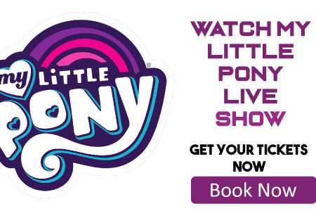 My Little Pony Live Tickets Discount Coupon Infographic