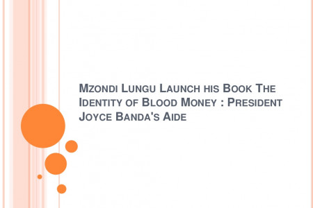 Mzondi Lungu was announced winner with The Identity of Blood Money on Tuesday 14th January 2015 Infographic