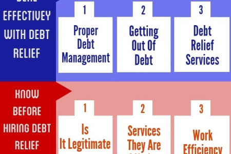 National Debt Relief Infographic