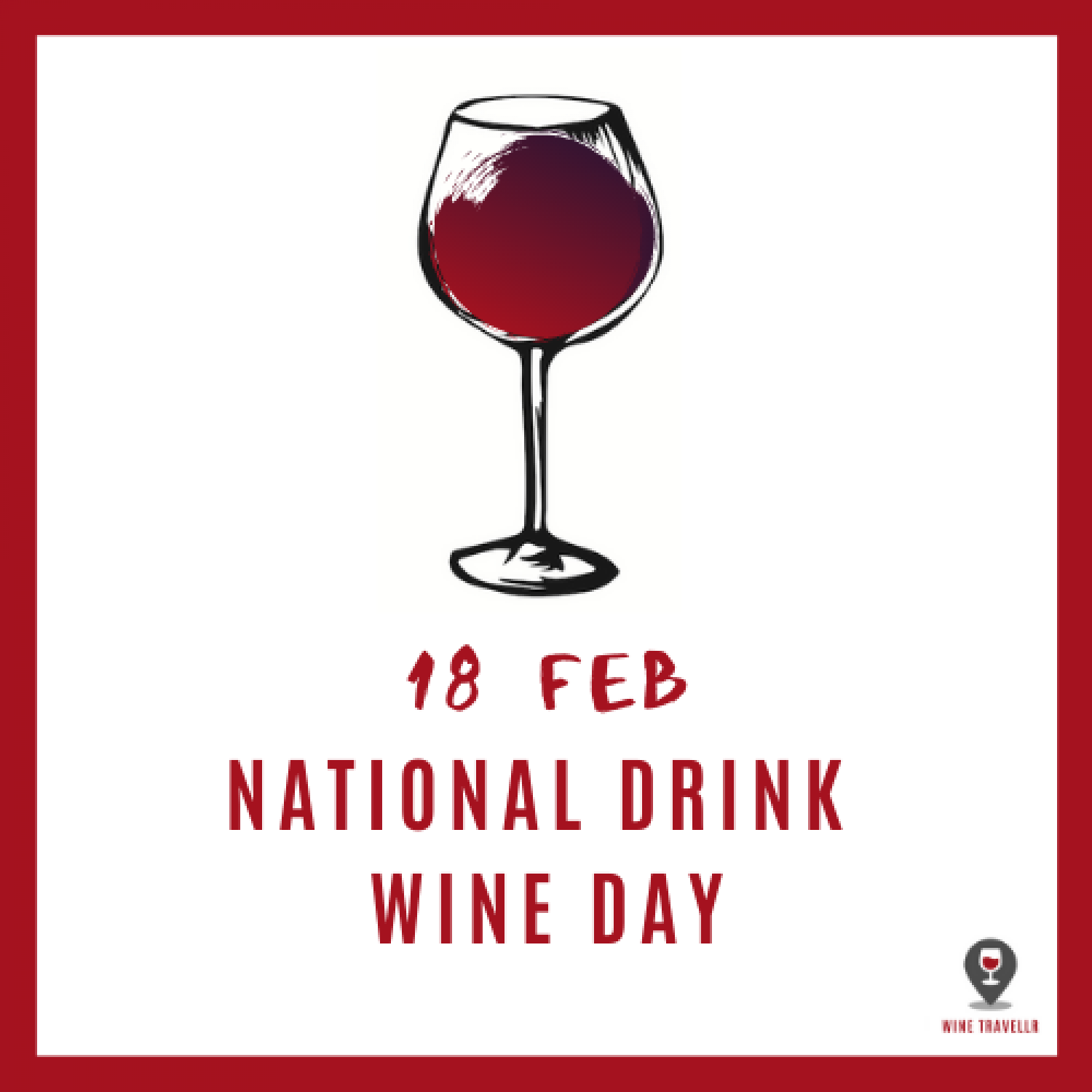 National Drink Wine Day- Wine Travellr Infographic