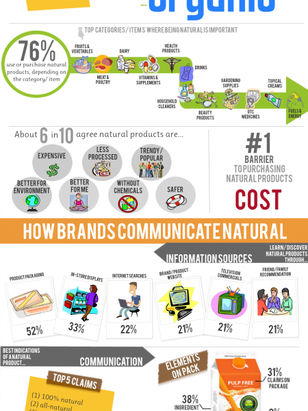 NATURAL: From The Consumers Perspective Infographic