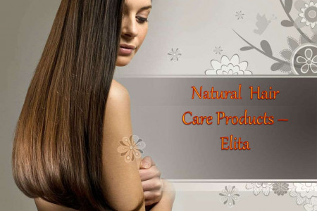 Natural Hair Care Products - Elita   Infographic