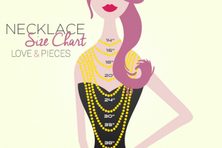 Necklace Size Chart Infographic