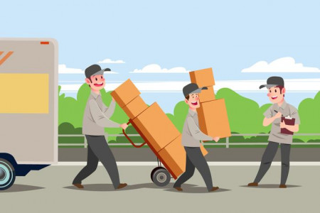 Need Moving Help? - Contact Blue Beaver Movers Infographic