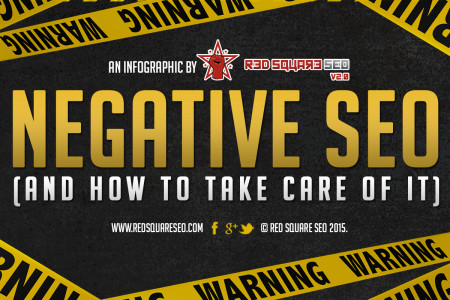 Negative SEO (and how to take care of it) Infographic