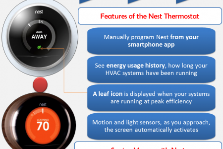 Nest Thermostat Infographic