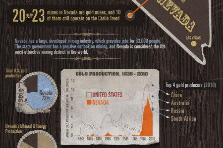 Nevada: The Next American Gold Rush Infographic