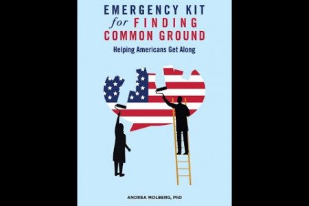 New Bestseller: EMERGENCY KIT for FINDING COMMON GROUND by Andrea Molberg PhD Infographic