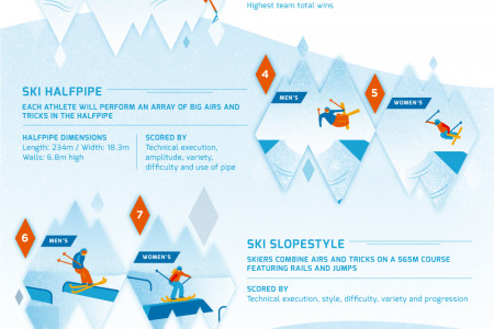 New Olympic Sports - Sochi 2014  Infographic