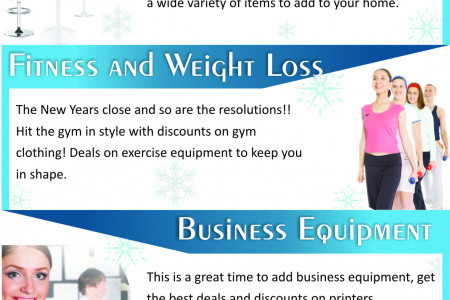 New Year must haves!!! Infographic
