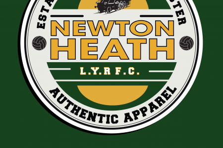 Newton Heath Logo Infographic