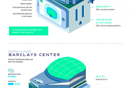 Next-Level Stadiums Infographic