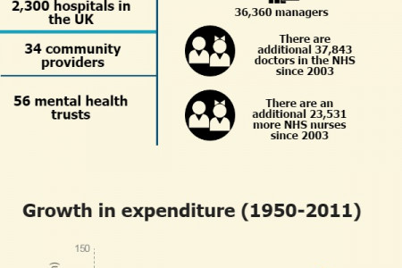NHS: Key Stats and Facts Infographic
