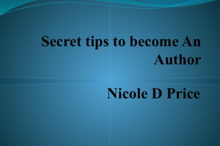 Nicole D Price - Essential steps to become an author Infographic