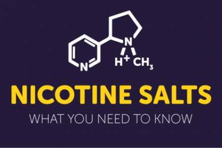 NICOTINE SALTS - WHAT YOU NEED TO KNOW Infographic