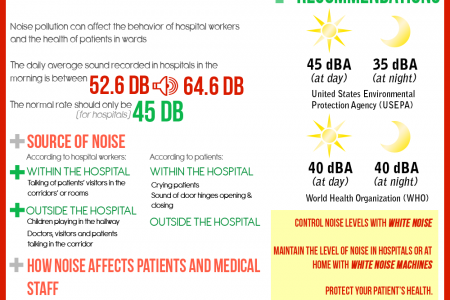 Noise Pollution in Hospitals Infographic