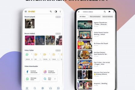 Now enjoy offline and online videos in single app Infographic