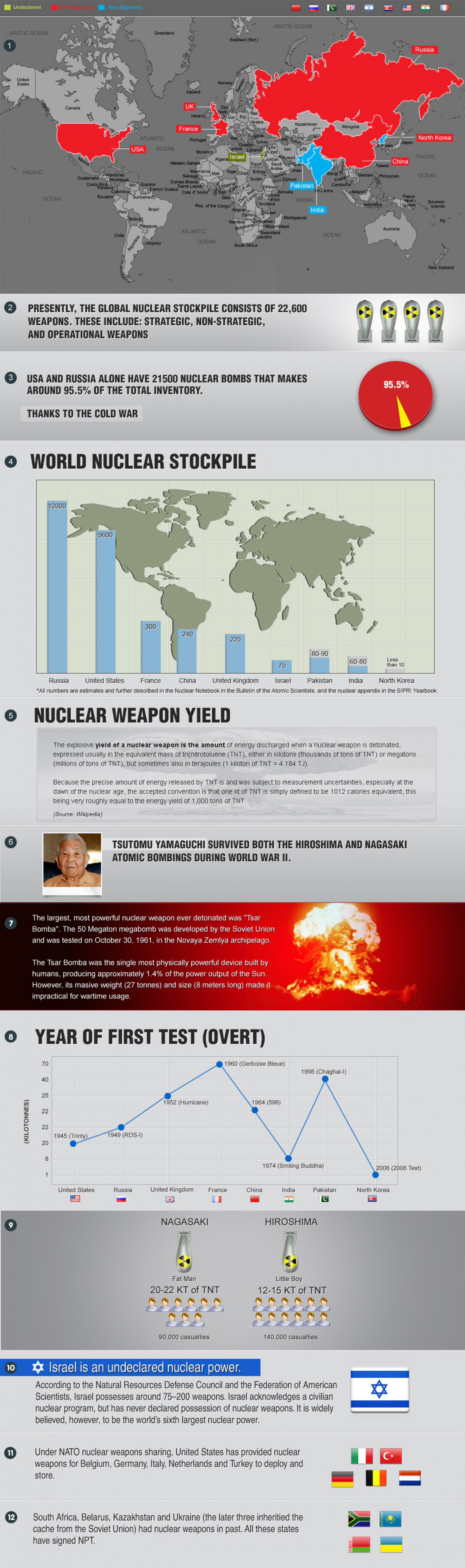 Nuclear World  Infographic