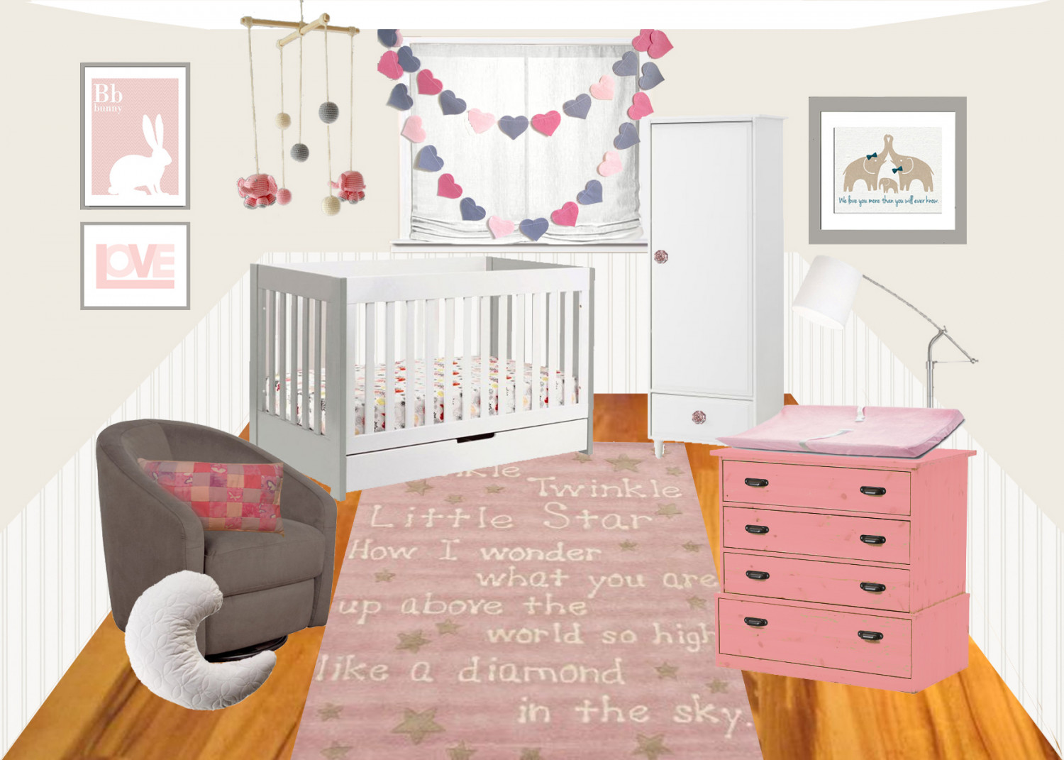 Nursery Items Infographic