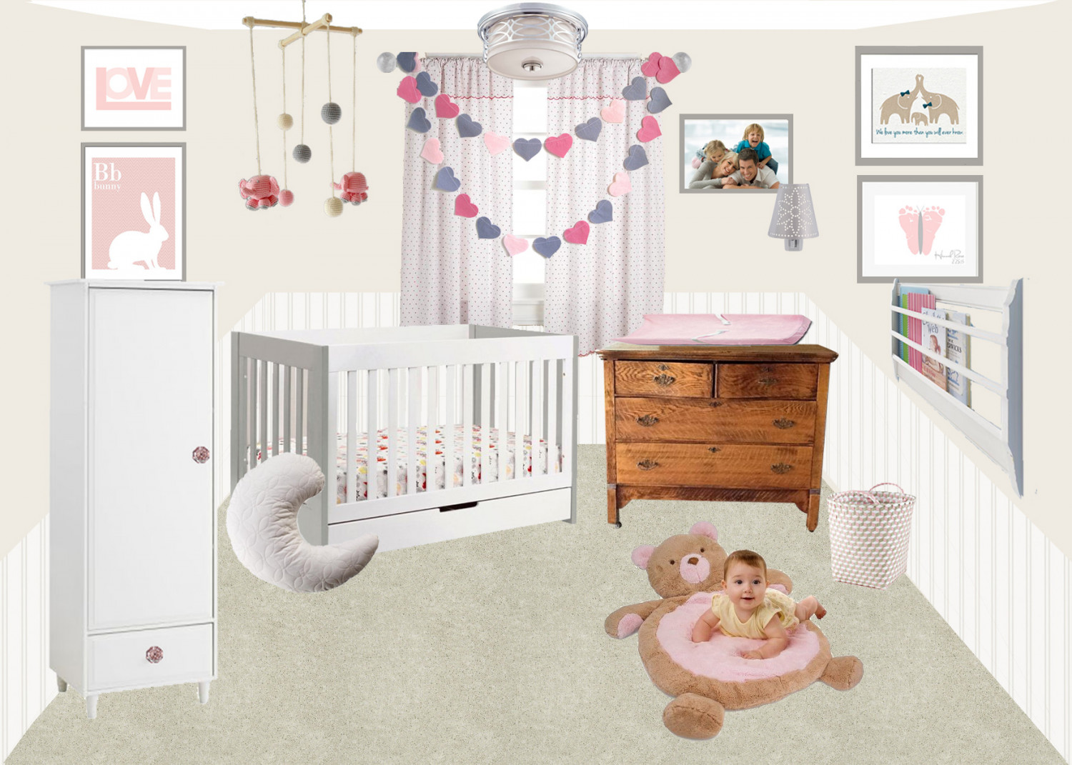 Nursery Room Design Infographic