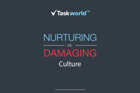Nurturing Vs. Damaging Culture Infographic