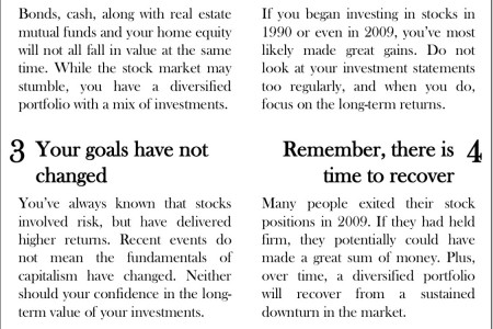 NYTimes: Six Tips for Investors Infographic