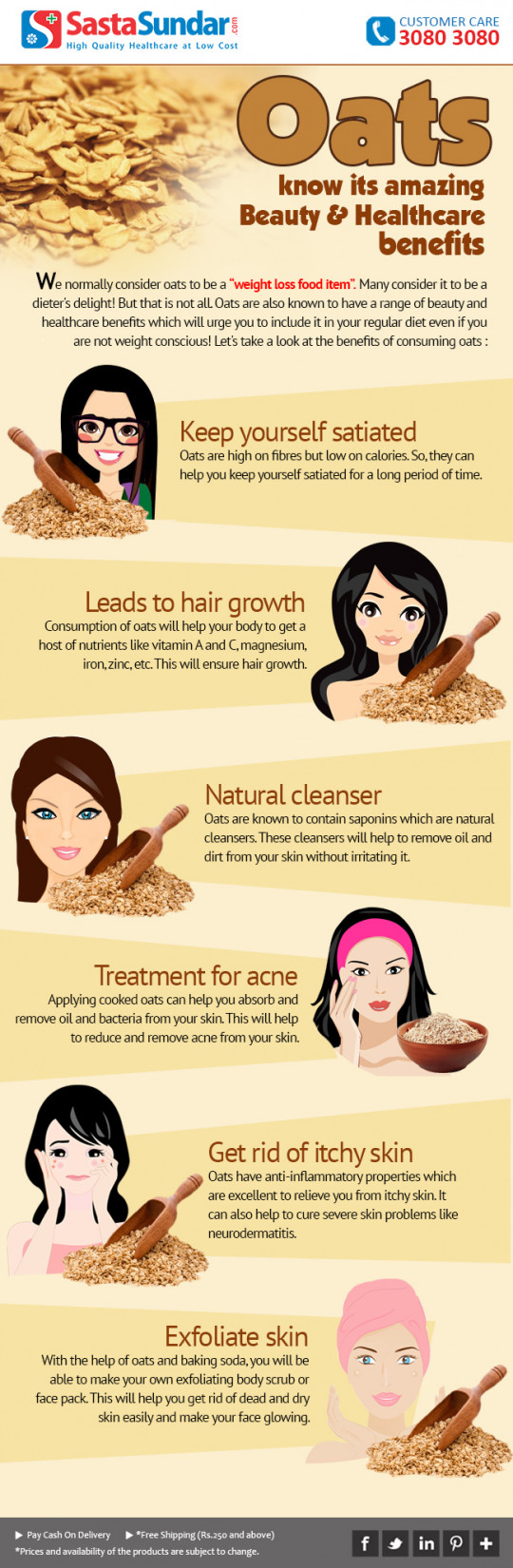 Oats - Know Its Amazing Beauty And Healthcare Benefits