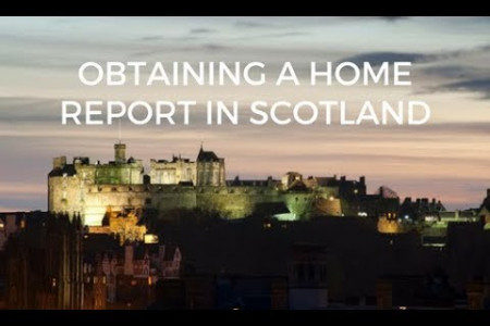Obtaining a Home Report in Scotland with Home Report Company Infographic