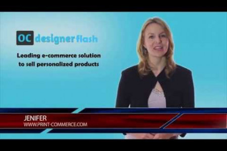 OCdesigner Flash - Leading Ecommerce solution to sell personalized products Infographic