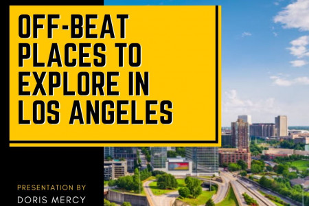Off beat places to explore in Los Angeles Infographic