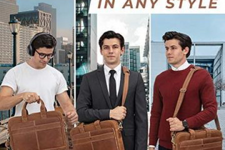 office bags for men Infographic