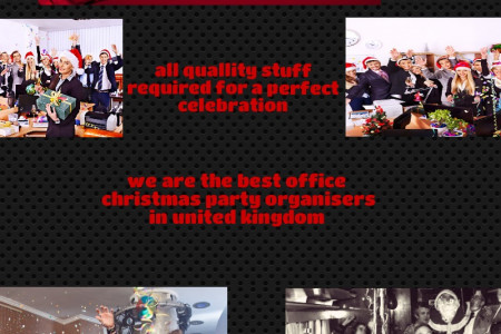 Office Christmas Parties Infographic