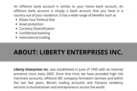 Offshore Bank Accounts: Introduction Infographic