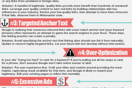 Oh Snap, a Google Slap! 6 Signs You Might Get Smacked Infographic
