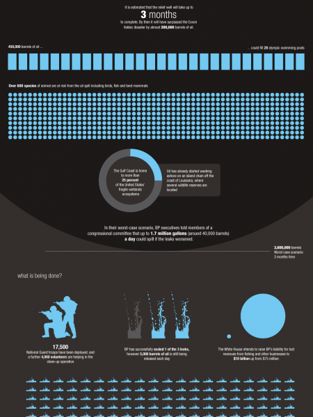 Oil Spill Latest: The Cost of Clumsiness Infographic