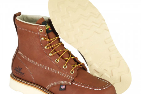 Oil Tanned Leather work boot by thorogood Infographic