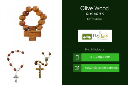 Olive Wood Rosaries Infographic